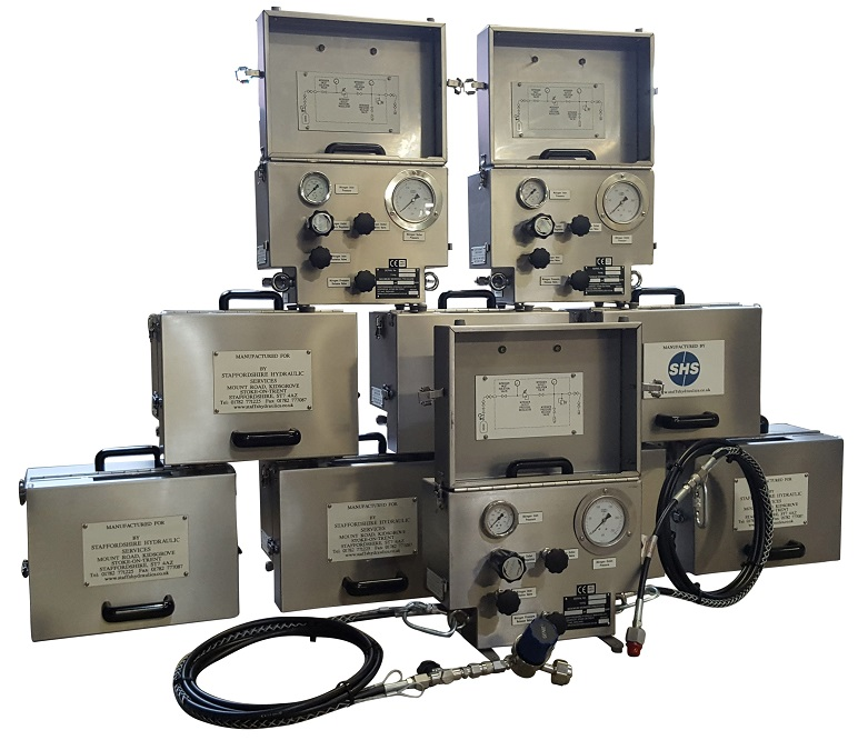Chlorine Line Test Units